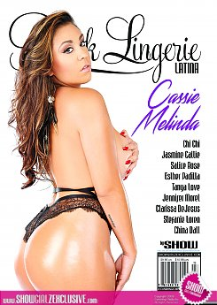 BLACK LINGERIE 25 LATINA EDITION ON SALE TODAY!!! 1